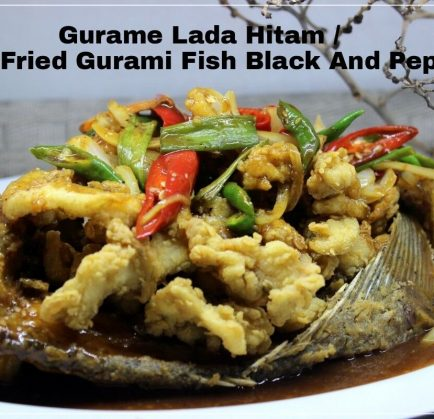 Gurame Lada Hitam / Deep Gurami Fish Black and Pepper