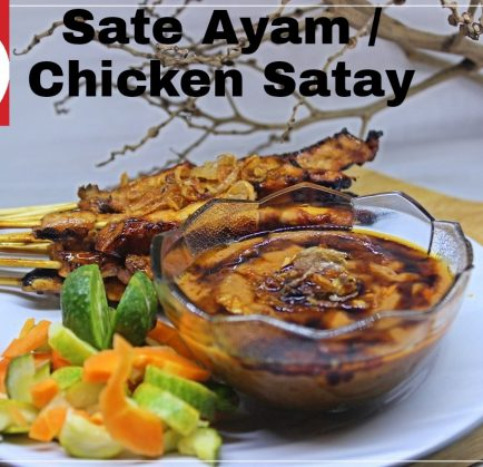 Sate Ayam Lezat